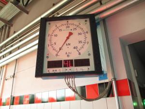 Anzeige der Bremskräfte links und rechts bei der HU bzw. SP