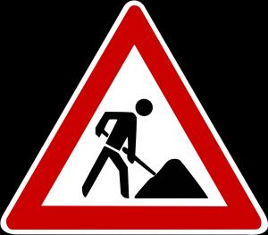 Baustelle - Fahrplanänderung